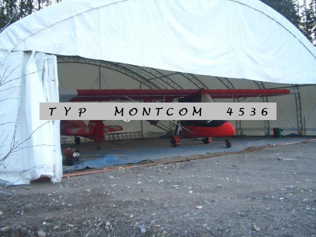 oblouková hala MONTCOM 4536