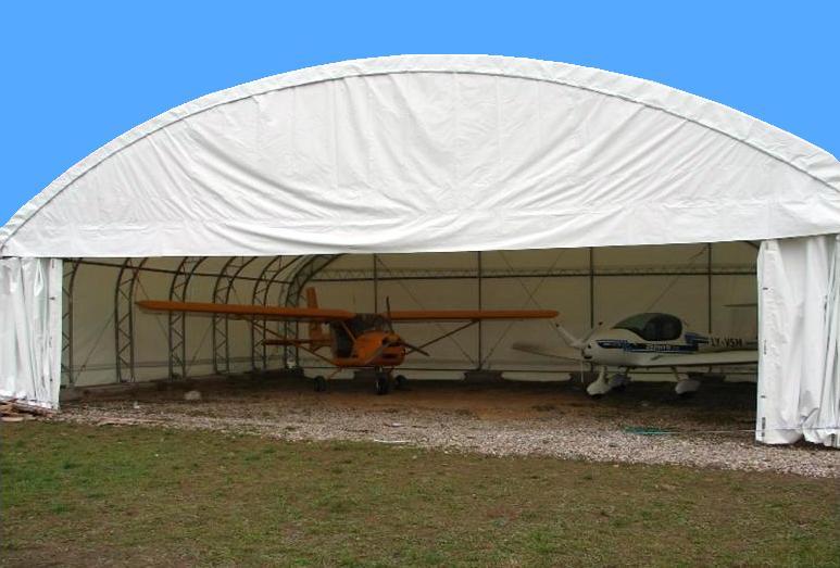 hangár montcom 4536 je nejvhodnější typ pro letadlo